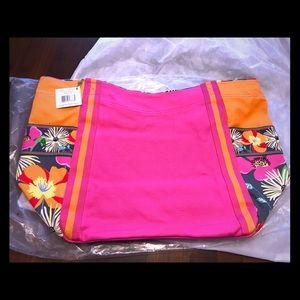 Vera Bradley colorblock tote/beach bag